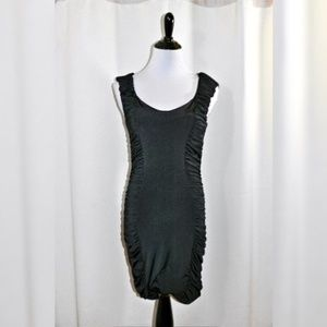 EUC Soprano Ruched Mini Dress